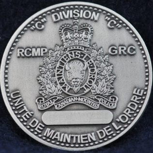 RCMP C Division Tactical Troop