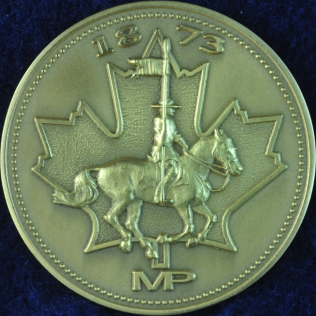 RCMP 1873 MP Gold