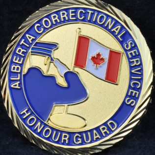 Alberta Correctional Services Honour Guard