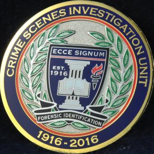 Edmonton Police Service EPS Crime Scenes Investigation Unit