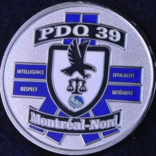 SPVM Poste de Quartier 39 Montreal-Nord
