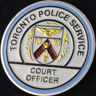 Toronto Police Service Court Officer