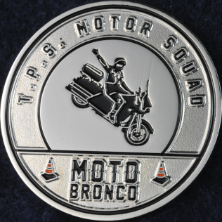 Toronto Police Service Motor Squad Moto Bronco