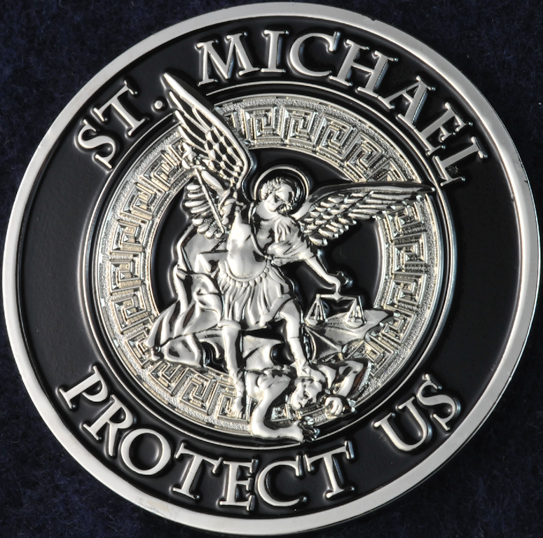 Toronto Police Service St Michael Challengecoins Ca
