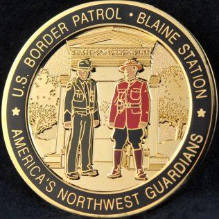 US Border Patrol Blaine Station