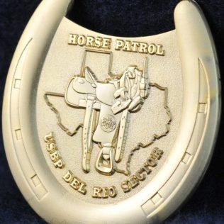 US Border Patrol Horse Patrol Del Rio Sector