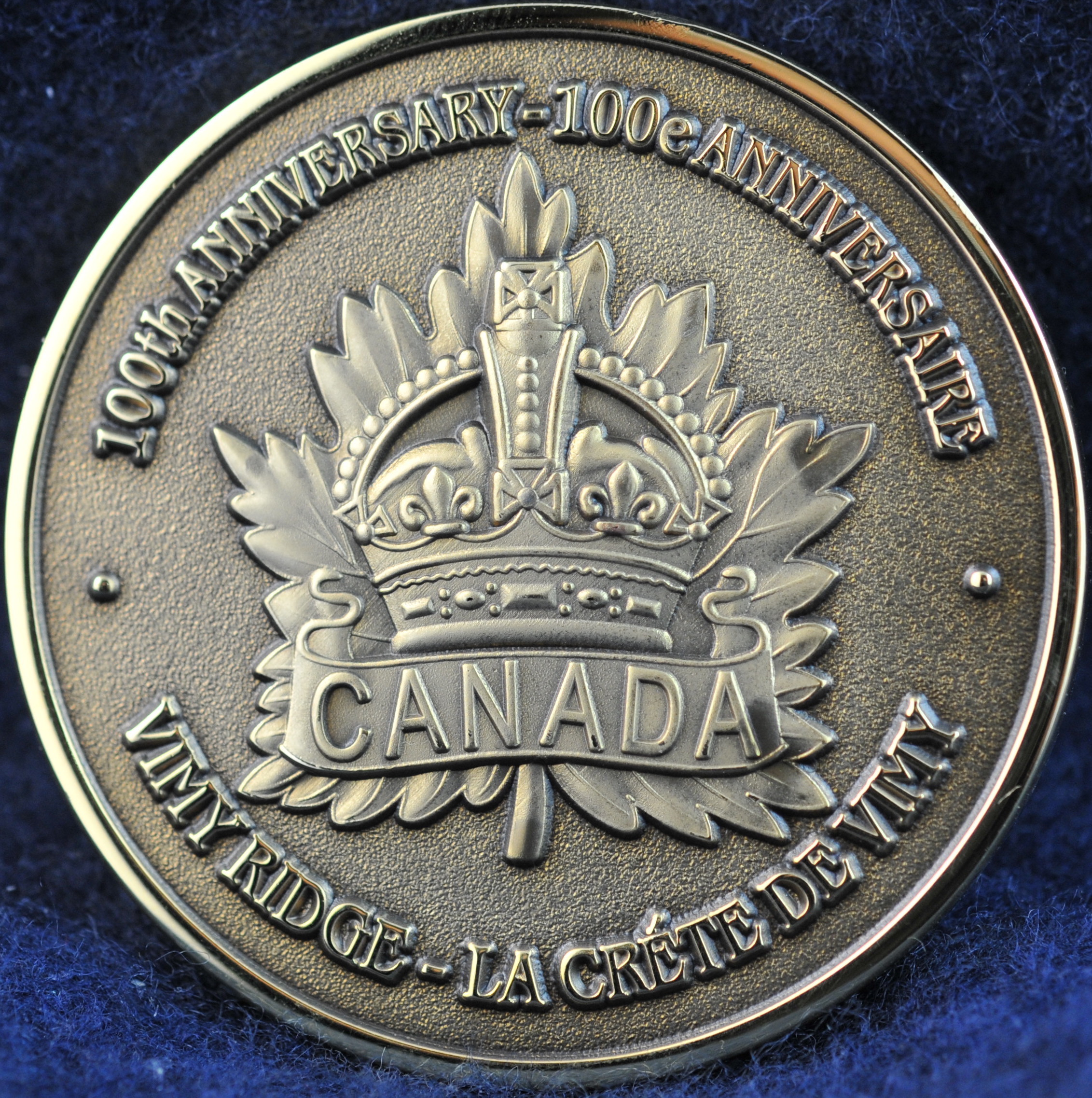 Vimy Ridge 100th Anniversary 1917 2017 Challengecoins Ca