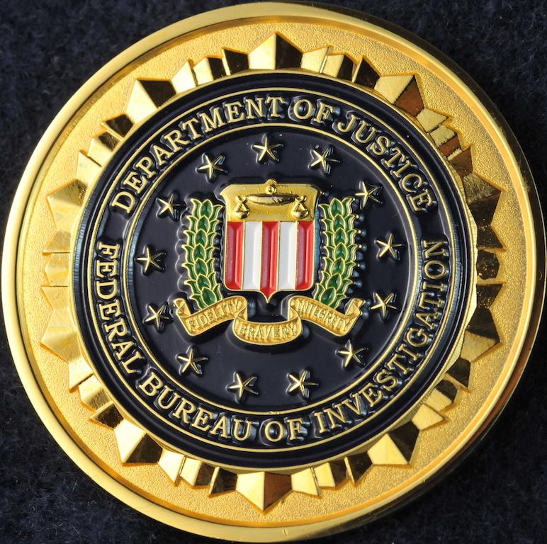 US FBI Counterterrorism Division   Challengecoins.ca