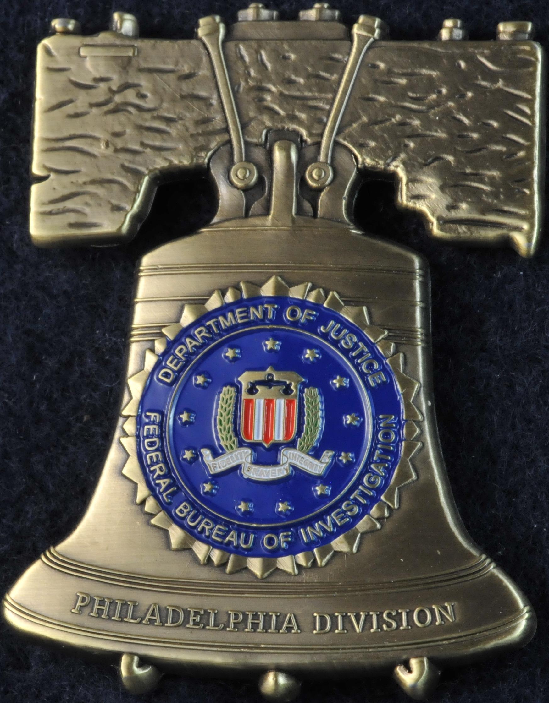 US FBI Philadelphia Division   Challengecoins.ca