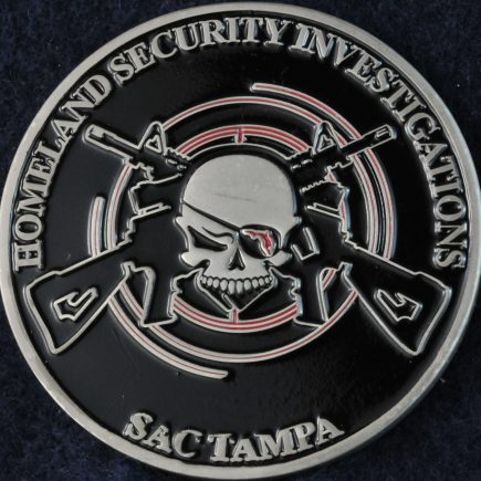 US Homeland Security Investigations SAC Tampa