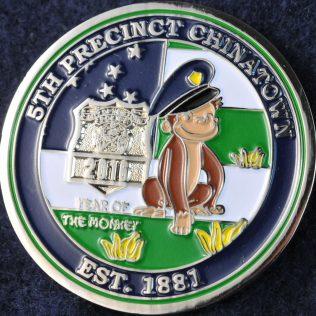 US NYPD 5th Precinct Chinatown