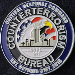 US NYPD Counterterrorism Bureau Crtitical Response Command