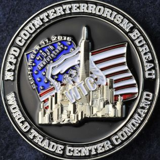 US NYPD Counterterrorism Bureau World Trade Center Command