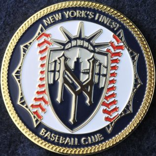 US NYPD Finest Baseball Club