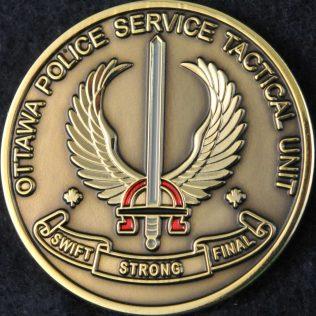 Ottawa Police Service Tactical Unit