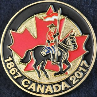 RCMP 1867 Canada 2017 Gold