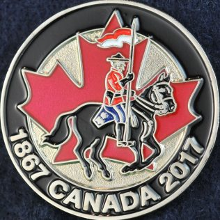 RCMP 1867 Canada 2017 Silver