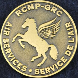 RCMP Air Services Gold