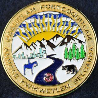 RCMP E Division Coquitlam Detachment colour