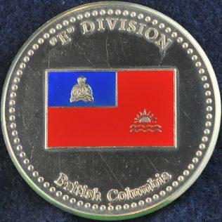 RCMP E Division Commanding Officer's Medallion silver