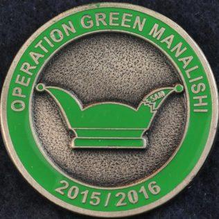 RCMP G Division Operation Green Manalishi