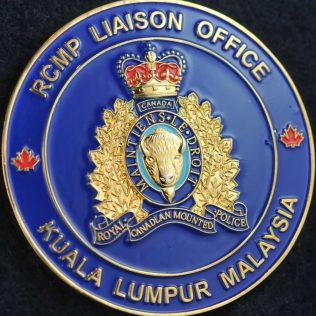 RCMP Liaison Office Kuala Lumpur Malaysia