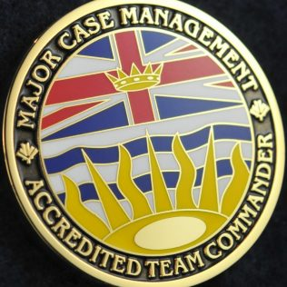RCMP E Division Major Case Management BC Accredited Team Commander