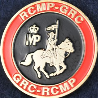 RCMP Mounted Police Gold