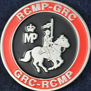 RCMP Mounted Police Silver