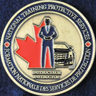 RCMP National Training Protective Services (VIP) Instructor