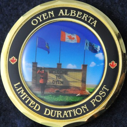 RCMP Oyen Alberta Detachment Limited Duration Post