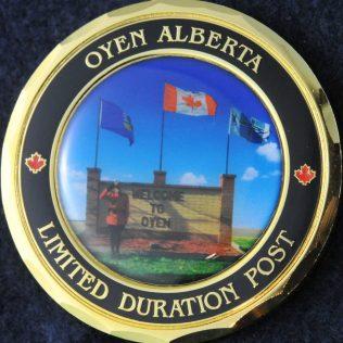 RCMP K Division Oyen Alberta Detachment Limited Duration Post
