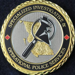 RCMP E Division Specialized Investigative and Operational Police Services