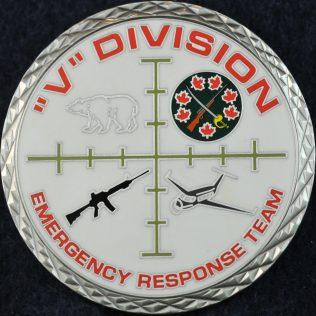 RCMP V Division Emergency Response Team