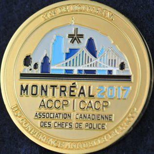 SPVM Association Canadienne des Chefs de Police 2017