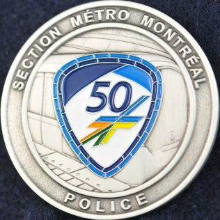 SPVM Section Métro Montreal