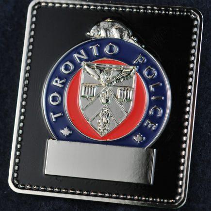 Toronto Police Service Badge Spartan Coin
