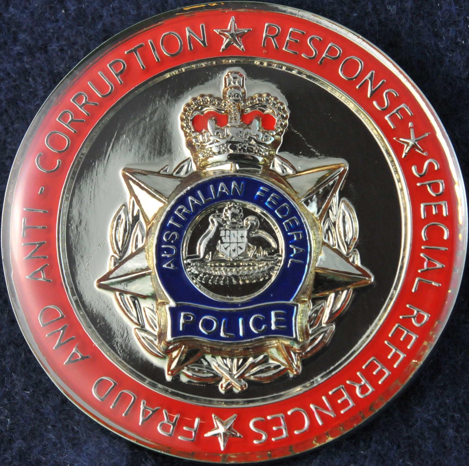 Australian Federal Police Crime Operations Challengecoins Ca