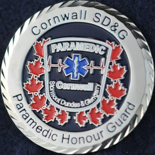 Cornwall Paramedic Honour Guard
