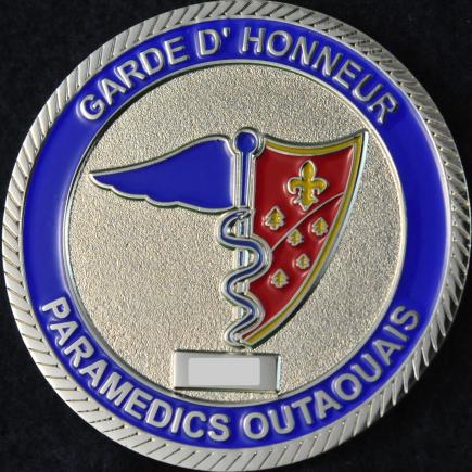Paramedics Outaouais Garde d'honneur
