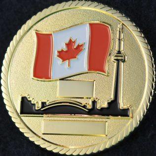 Toronto Police Service Canadian Flag