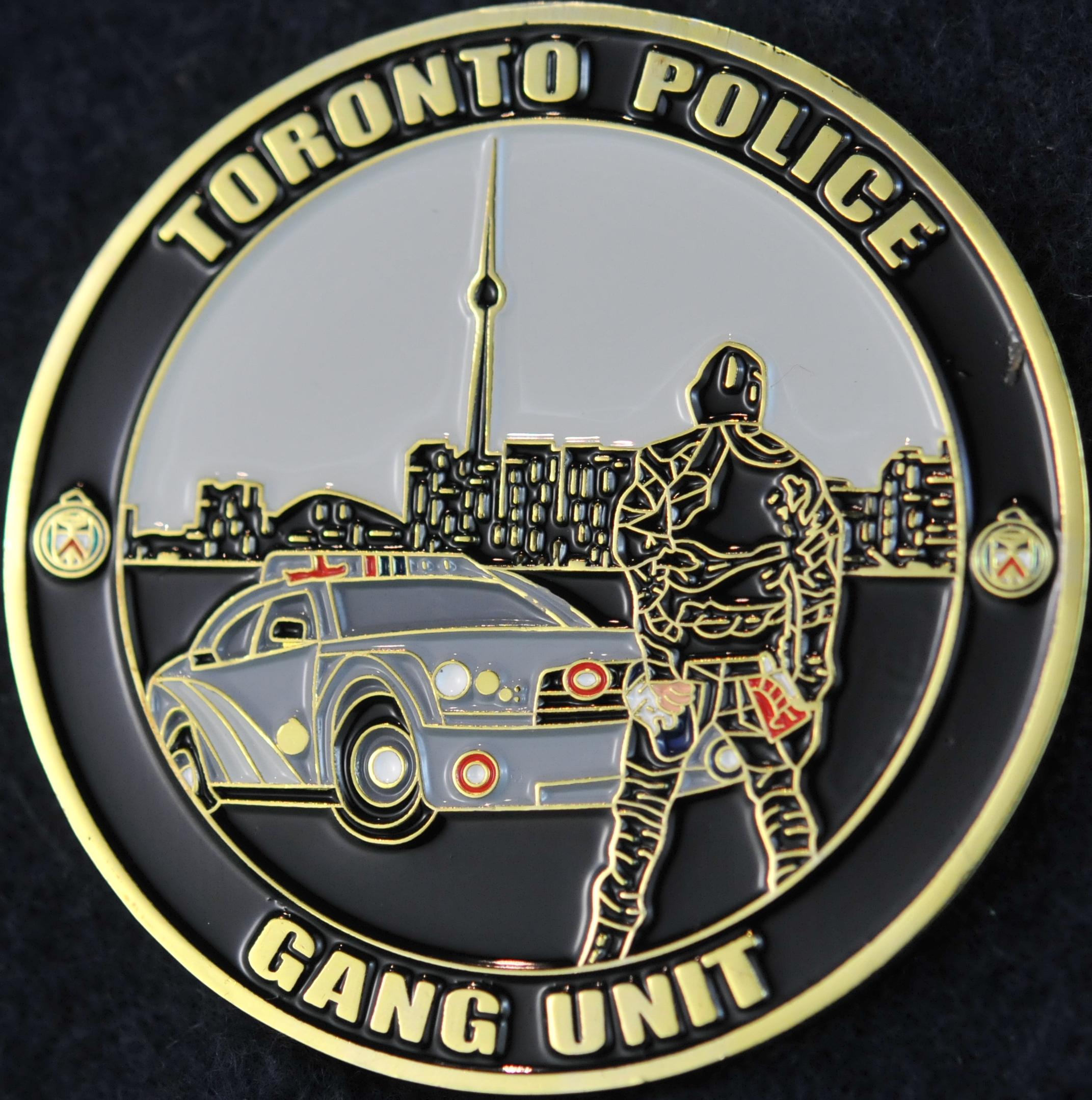 Toronto Police Service Gang Unit Challengecoins Ca