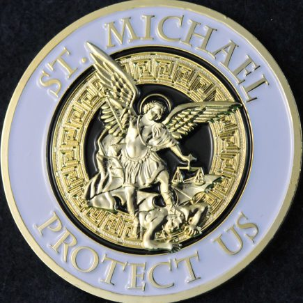 Toronto Police Service St-Michael (white and gold)