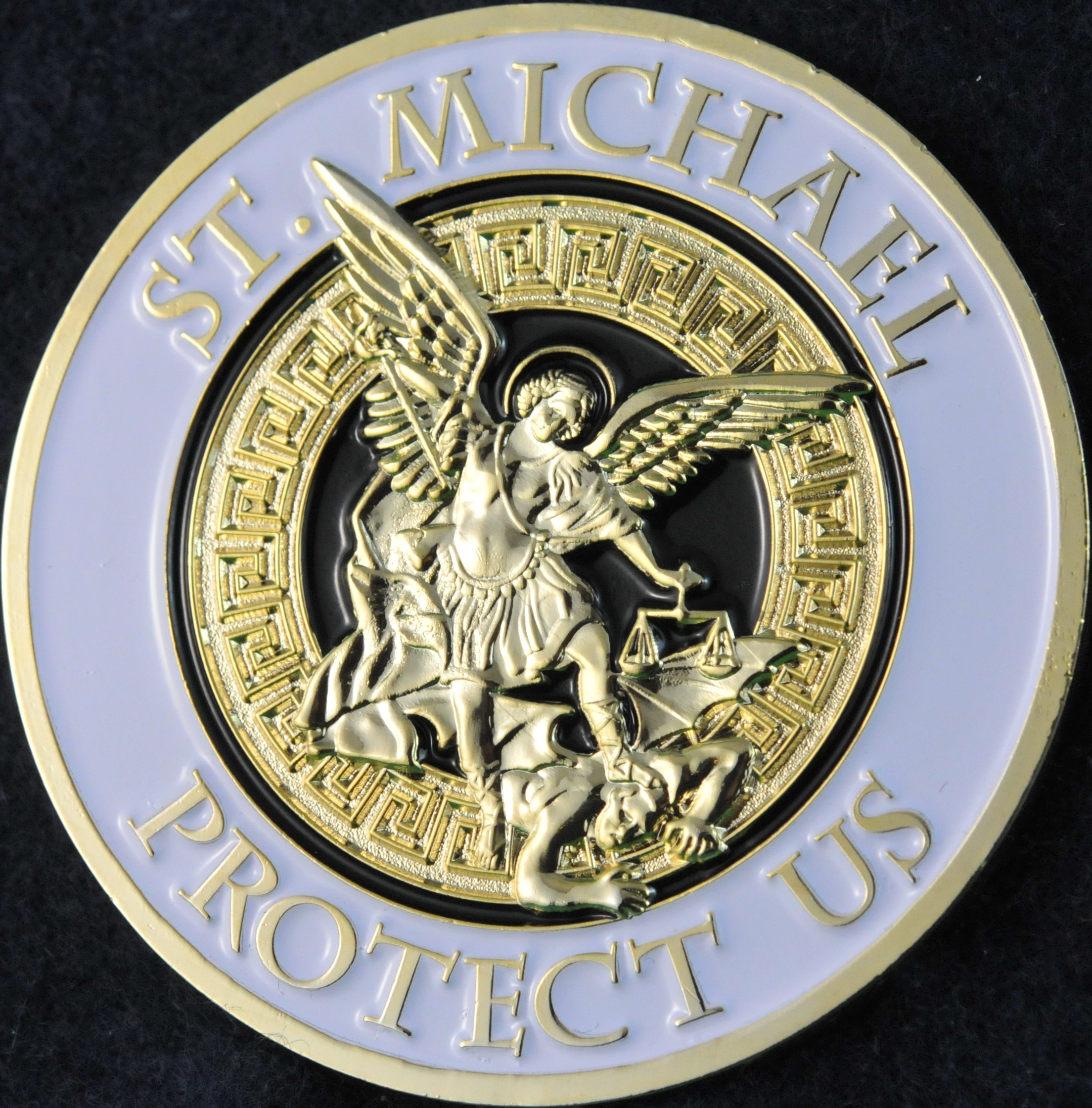 Toronto Police Service St Michael White And Gold
