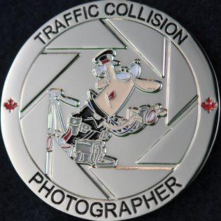 Toronto Police Service Traffic Collision Photographer