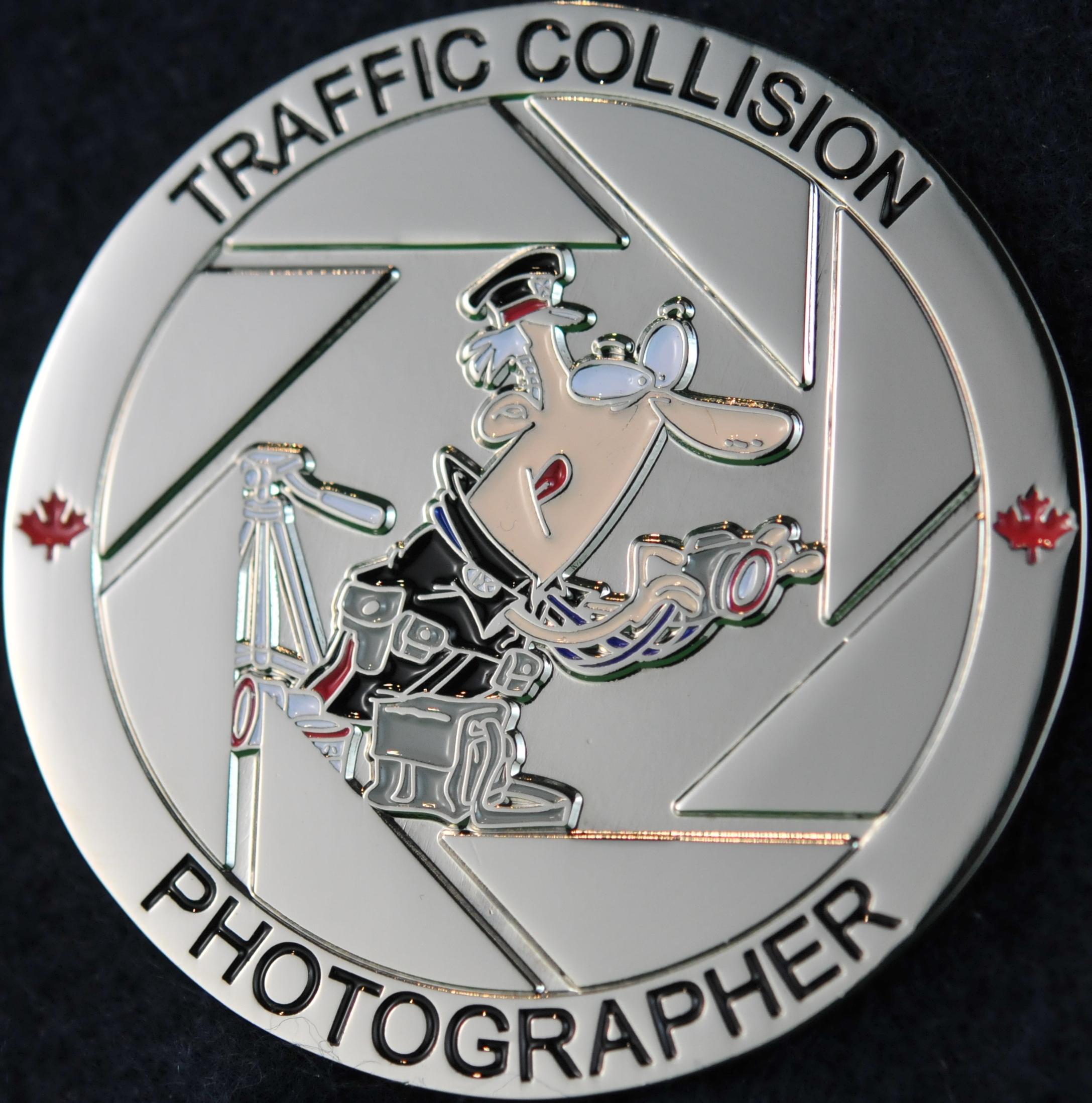 Toronto Police Service Traffic Collision Photographer
