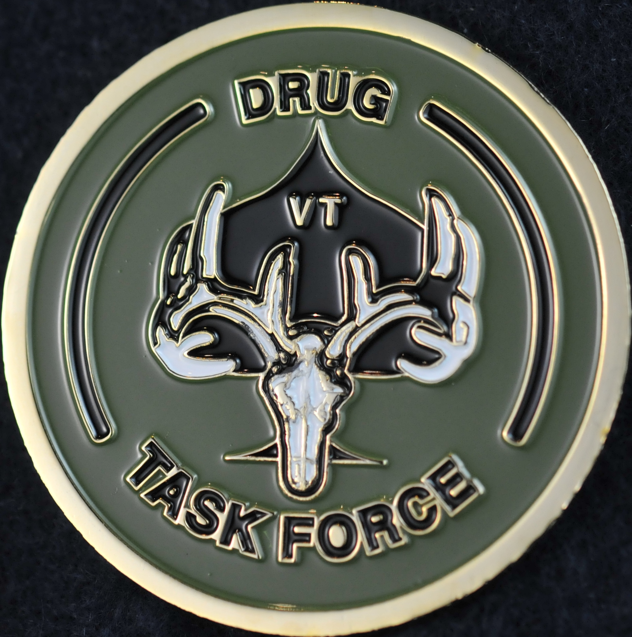 US ATF Vermont - Drug Task Force   Challengecoins ca
