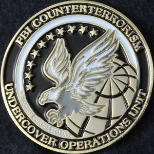 US FBI Counterterrorism Undercover Operations Unit
