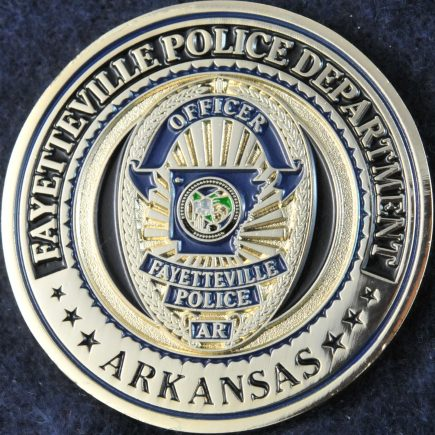 US Fayetteville Police Department Arkansas