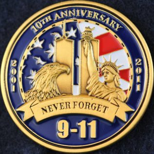 US NYPD 10th Anniversary 9-11